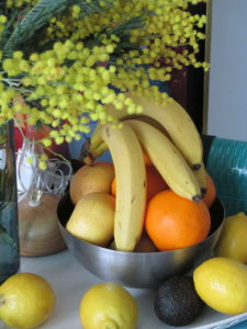 Penser aux fruits
